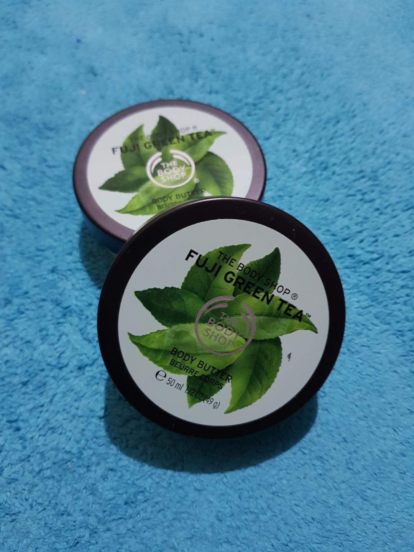 #MauTHR The Body Shop Fuji Green Tea Body Butter