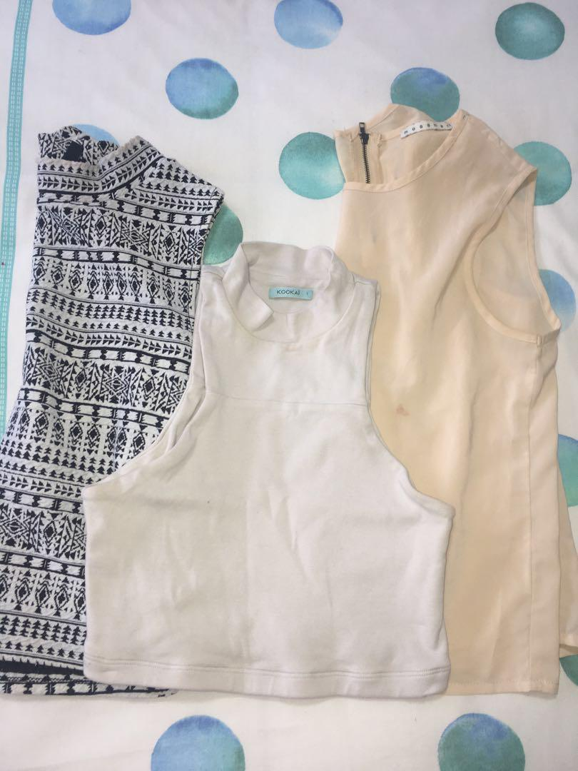 Tops bundle! Fault: Stain on one