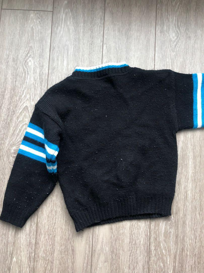 Vintage cheerleader cropped knit
