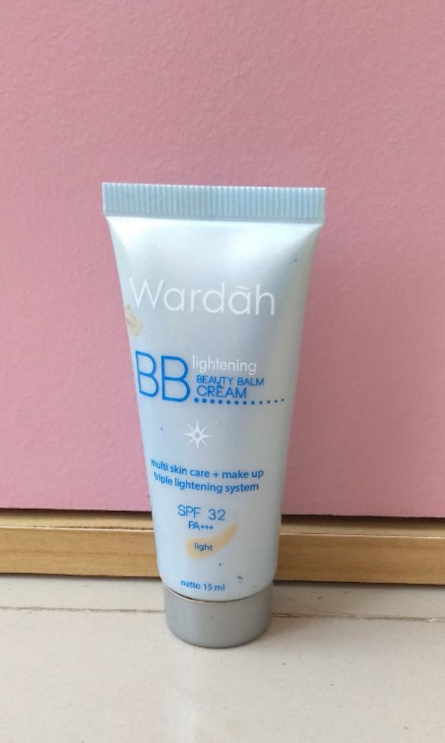 Wardah Lightening BB Cream SPF 32 15 ml, Health & Beauty, Makeup onCarousell