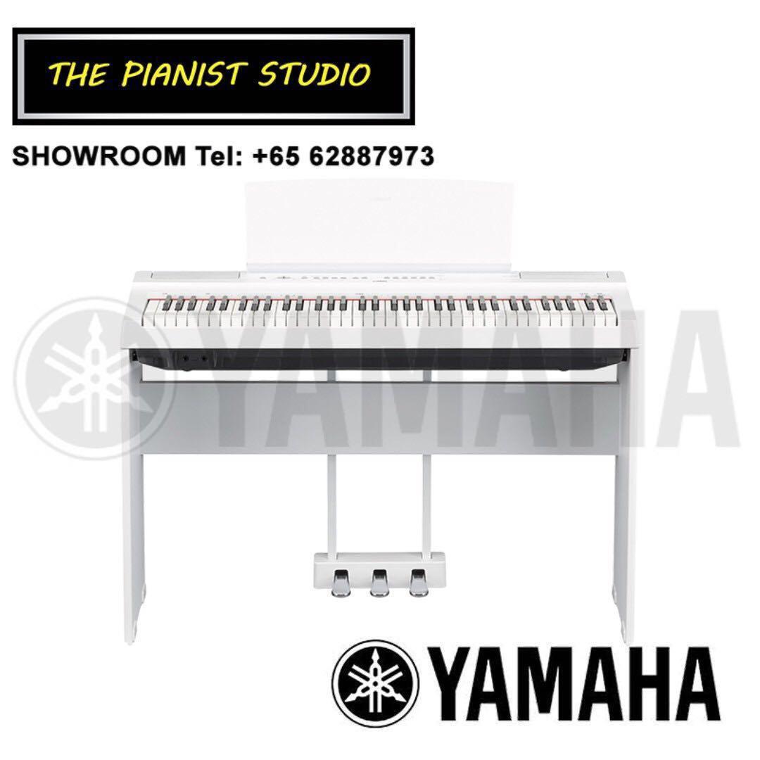 THE PIANIST STUDIO - Yamaha P-121 Digital Piano Singapore Sale at The Pianist Studio! P121