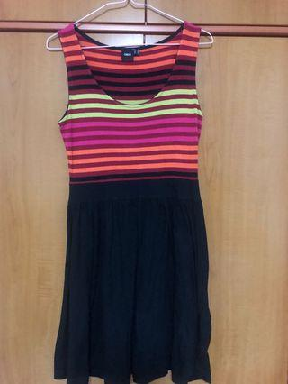 ASOS Sleeveless Striped Dress