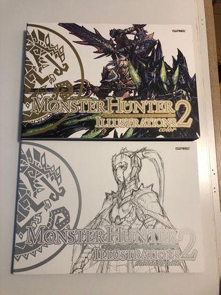 Monster Hunter Illustration 2 畫集 設定集