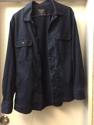 Abercrombie&Fitch army jacket in navy