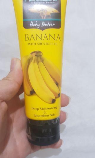 Herborist body butter banana with shea butter