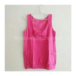 Outer Pink Polkadot Pita #mauthr