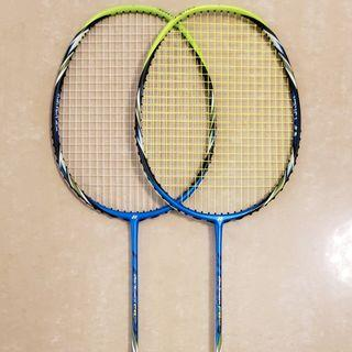 Yonex Arch Saber FB, F, 80% New Badminton Racket (Right) 羽毛球拍