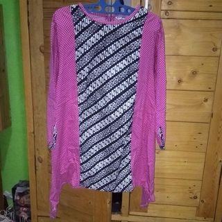 #mauthr blouse batik