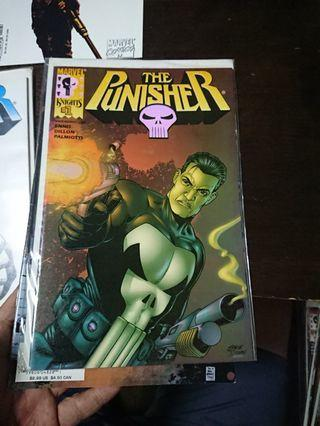 Punisher Vol. 3 #1 Marvel Knights Chrome Cover