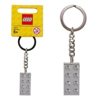 🔐全新LEGO 851406 銀磚鎖匙扣🔐