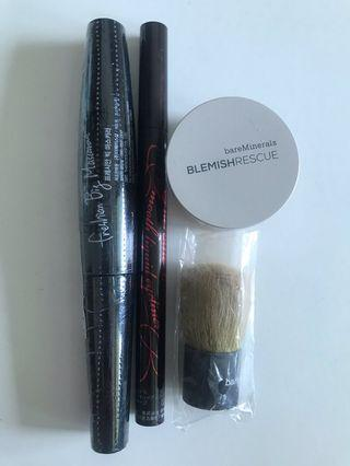 Make up set eyeliner foundation mascara