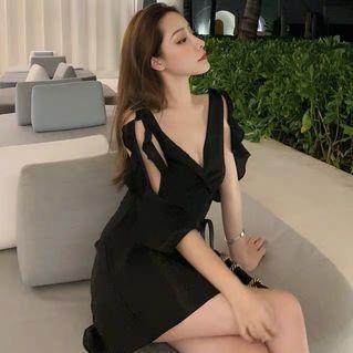 Instock! Brand new black dress