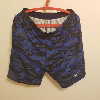 🚚 Nike 藍色迷彩 短褲 XL