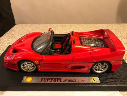 Ferrari F50 模型車 1/18