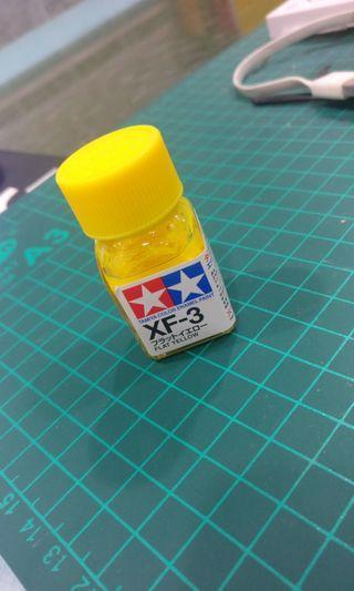 Tamiya Enamel Paint XF-3 Flat Yelloe