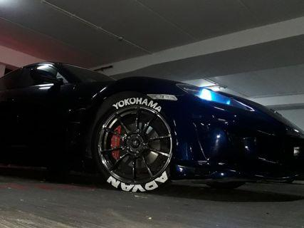 tyre painting services