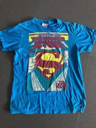 DC Superman Man Of Steel Graphic T Shirt