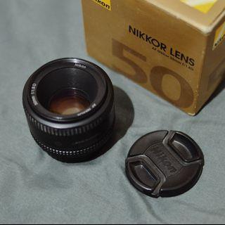 Nikon nikkor 50mm afd 1.8