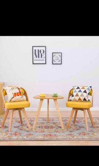 Coffee Table & Chair Set