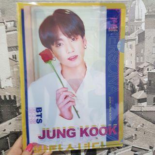 [PO] BTS Persona Jungkook A4 File Folder Made in korea