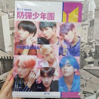 [PO] BTS Persona A4 File Folder Design 1 Made in korea /Jin jungkook jimin rm suga j-hope v taehyung