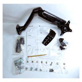 多角度調校、氣壓唧筒輕鬆升降 Locket DLB502 屏幕支撐架