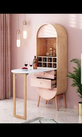 Pink Bar Table