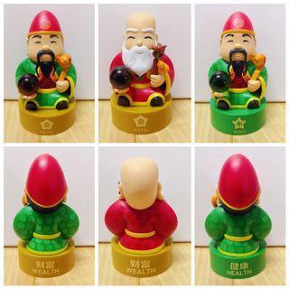 🚚 (Free/Giveaway) Fu Lu Shou Collectible Figurine 福禄寿