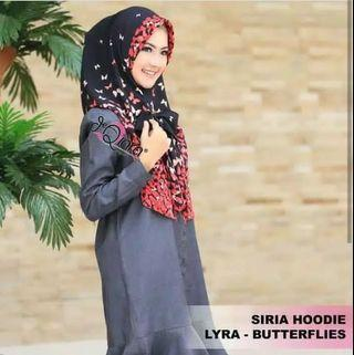 Hijab Instan Motif Butterfly