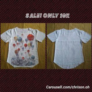 SALE Baju Putih Balon #mauthr
