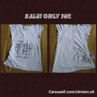 SALE Kaos putih berlapis #mauthr