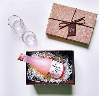日本白鶴純米酒禮品套裝 japanese Nigori Sake Gift Set