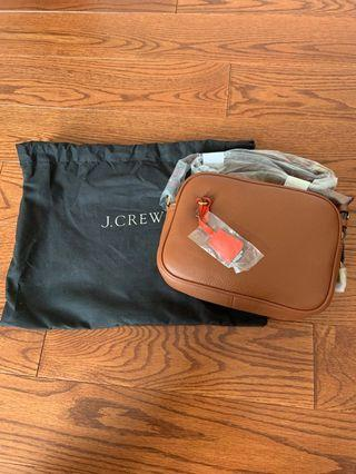 Brand new jcrew leather side bag. Retails for $200+