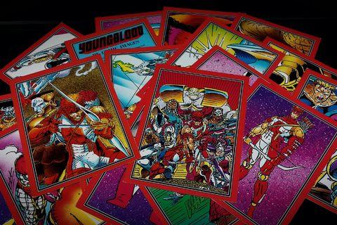 Rob Liefeld's YOUNGBLOOD Trading Cards (1992, Comic Images) [28 Card Lot] Image Not Marvel DC