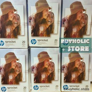現貨🉐 HP ZINK Photo paper 貼紙相紙 20張 Hp Sprocket