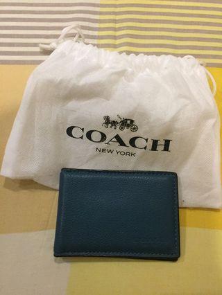 #mauthr | FS: Coach Authentic Men's card bifold wallet