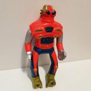Bullmark  冒險貓 機械人 中古品 膠公仔 Sofubi popy  medicom takatoku evolution toys