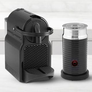 New in box - Nespresso Inissia Espresso Machine with Aeroccino Milk Frother