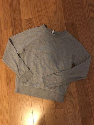 H&M Grey Crewneck Sweater (Size XS)
