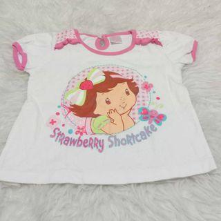#mauthr Kaos Strawberry Shortcake size 2-3 thn