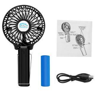 Topsharp HandFan HF308 mini small rechargeable 18650 battery usb fan - 0032
