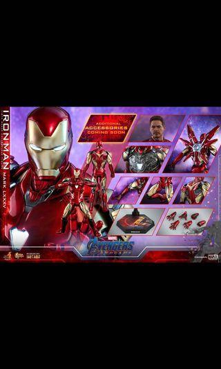 Hottoys Endgame-Iron Man mark85 18/4 單2500 原單 (1000+1500)