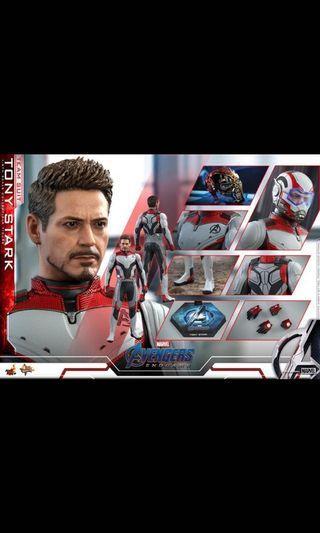 Hottoys Endgame - Tony Stark (Team Suit)