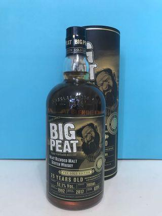 Big Peat 25 Whisky