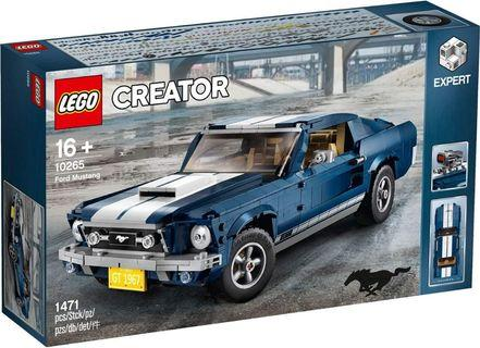 LEGO 10265 福特野馬 Ford Mustang 同系列 10220 10252 10242 10248 10262 10266