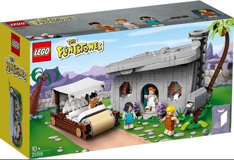 LEGO IDEAS 21316 聰明笨伯 The Flintstones 同系列 21303 21306 21309 21310 21311 21313