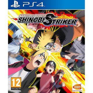 PS4 Naruto To Buruto Shinobi Striker