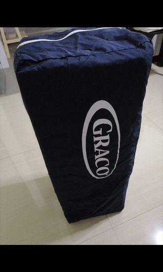 Blue Graco play yard or cots