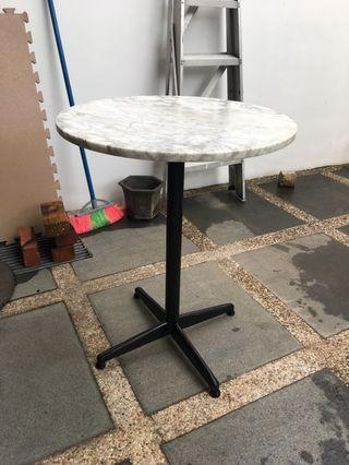 🚚 60cm marble table
