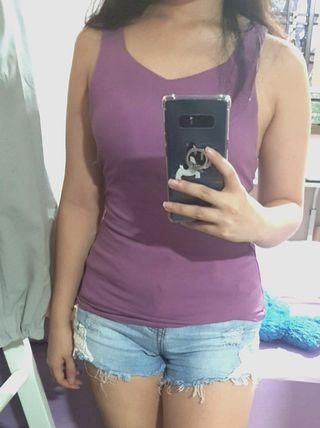 Victory Top in Purple